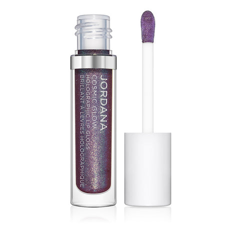 Cosmic Glow Holographic Lip Gloss - 06 Iridescent Purple