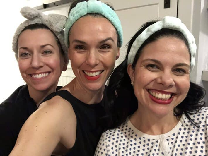 Girls night in with Beauty Heroes founder Jeannie Jarnot and Molly Hill of Maison Pur 2019