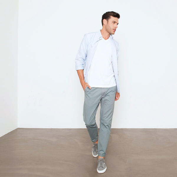 Sage Slim Straight Chino Pant