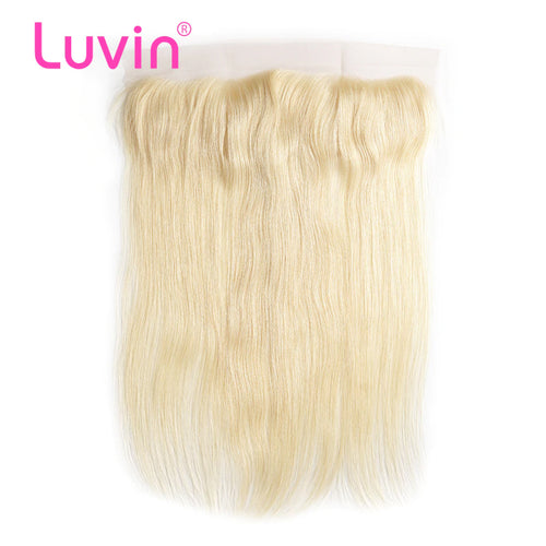 Lace frontal Blonde color #613 straight 13*4inch
