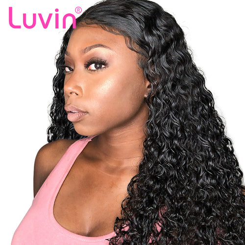 Undetectable transparent lace best virgin deep curly hair full lace wig