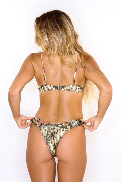 Annora Floral Swim Top