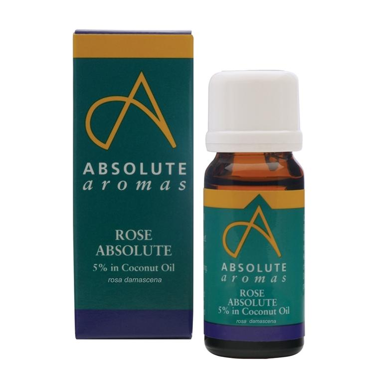 Absolute Aromas Rose Absolute 5% Essential Oil 10ml