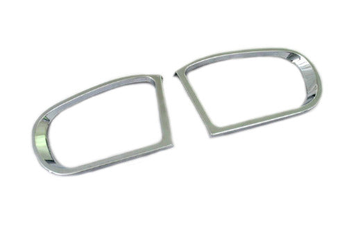 Chrome Side Mirror Frame - W203
