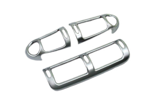 Matt Chrome Dash Air Vent Cover - W203 Pre-Facelift