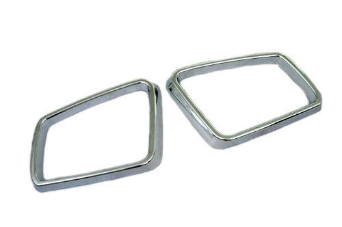 Chrome Side Mirror Frame - W204 / W212 / W221
