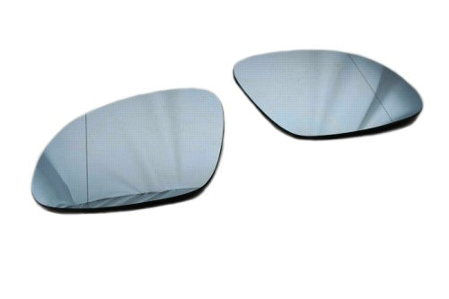 Blue Tinted Aspherical Side Mirror Glass - Tiguan MK1