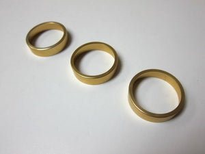 Aluminum Bezel For Climatronic Dial (Browny Gold) - Set of 3 Rings