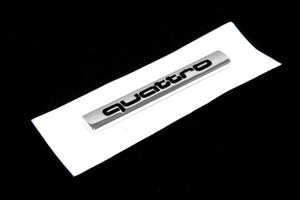 'QUATTRO' Rear Trunk Emblem (Small)