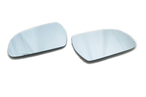Facelift Blue Tinted Aspherical Side Mirror Set