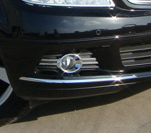 Chrome Fog Light Bezel - W204