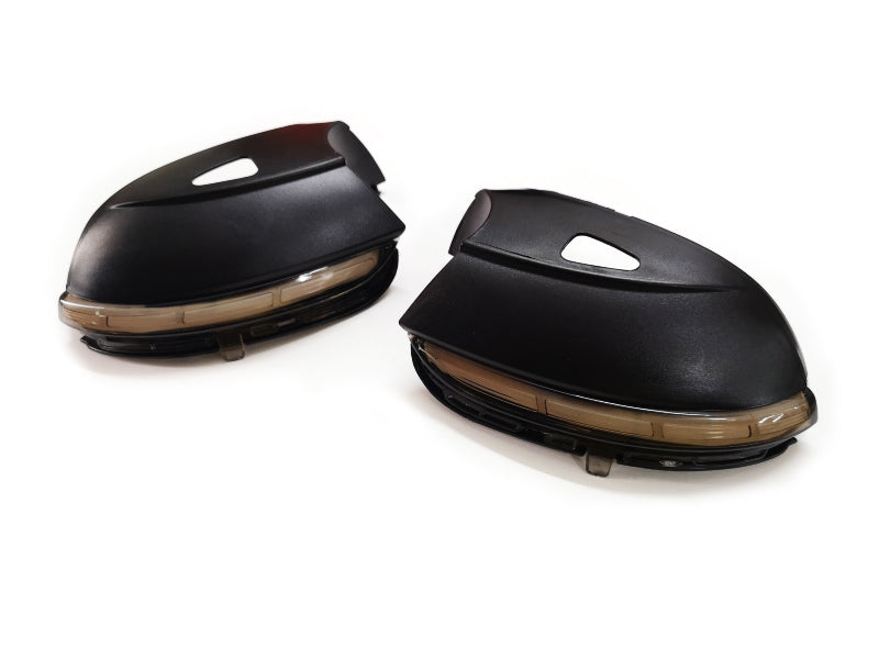 Sequential Style Side Mirror Turn Signal Light Tinted Lens - Passat CC & B7 / Scirocco MK3 / Jetta MK6