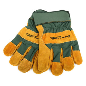 Forney Premium Cowhide Leather Palm Work Gloves (Men's XL)