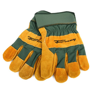 Forney Lined Premium Cowhide Leather Palm Work Gloves (Men's L)
