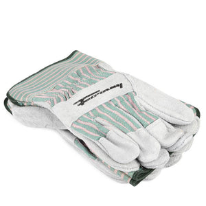 Forney Standard Cowhide Leather Palm Gloves, 3-Pack (Men's XL)