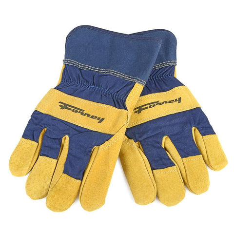 Forney Lined Premium Pigskin Leather Palm Gloves (Men's M)