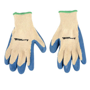 Forney Latex Coated String Knit Gloves (Size S)