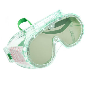 Forney Deluxe Dust Goggles, Green Lens