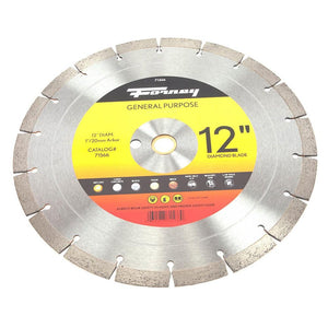 Forney Diamond High Speed Contractor Blade, 12""