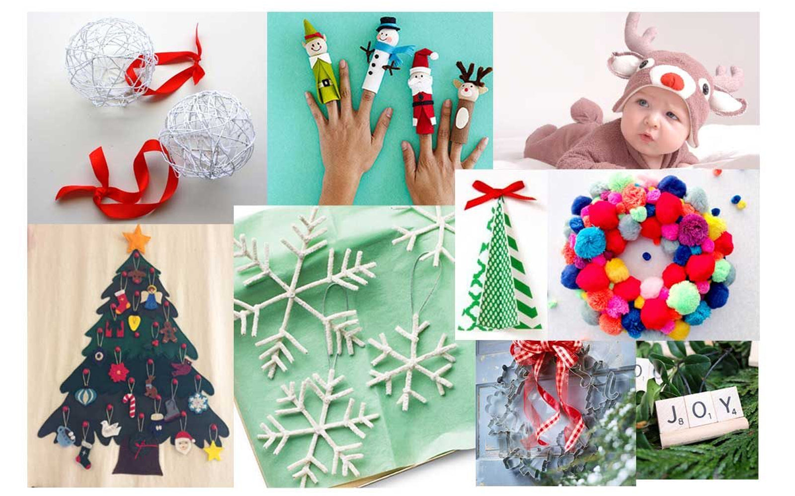 Our top 10 picks for DIY Christmas decorations and crafts
