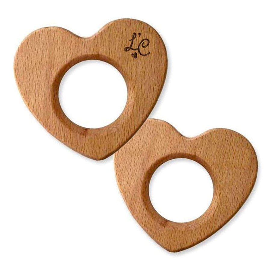 Heart Shaped Wooden Baby Toy