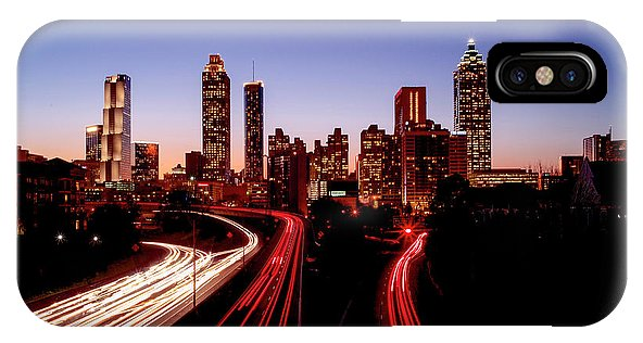 Atlanta At Night - Phone Case - SEVENART STUDIO