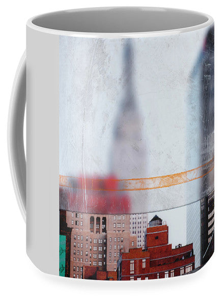 Empire State Blur - Mug - SEVENART STUDIO