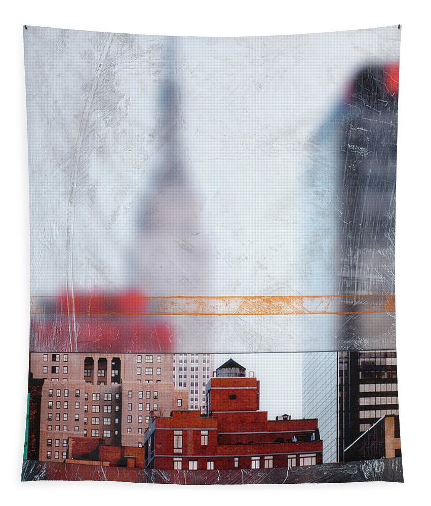 Empire State Blur - Tapestry - SEVENART STUDIO