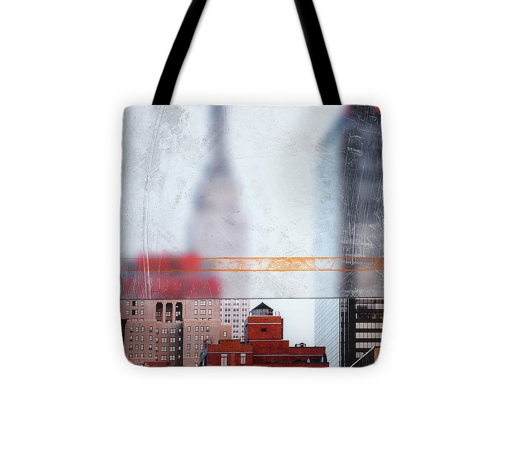 Empire State Blur - Tote Bag - SEVENART STUDIO