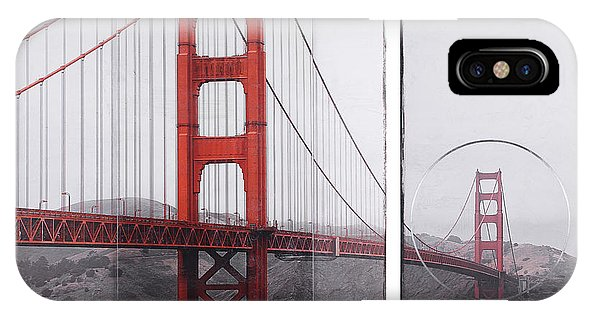 Golden Gate Red - Phone Case - SEVENART STUDIO