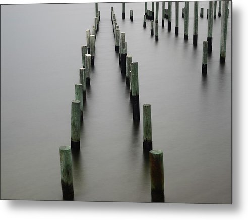 Still Pier - Metal Print - SEVENART STUDIO