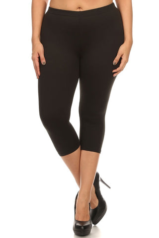 Curvy Capri Leggings (Click for additonal patterns)