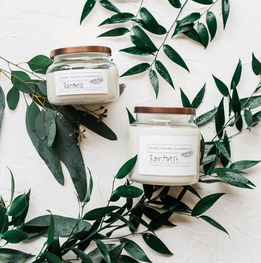 Rainforest Soy Candle