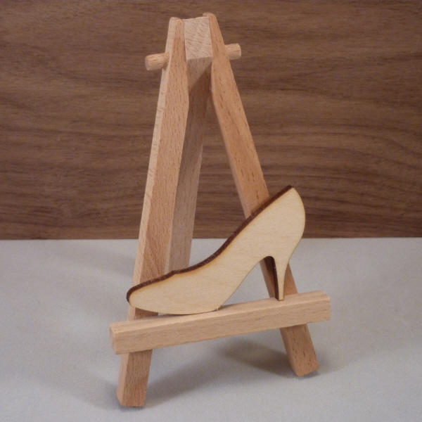 Plywood High Heel Shape
