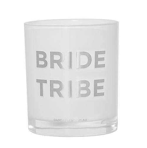 Bride Tribe Candle in Silver