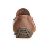 Casual Brown Loafers For Men - Slipon - Pavers England