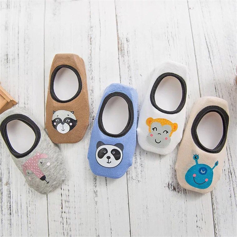 Breathable Cartoon Baby Socks