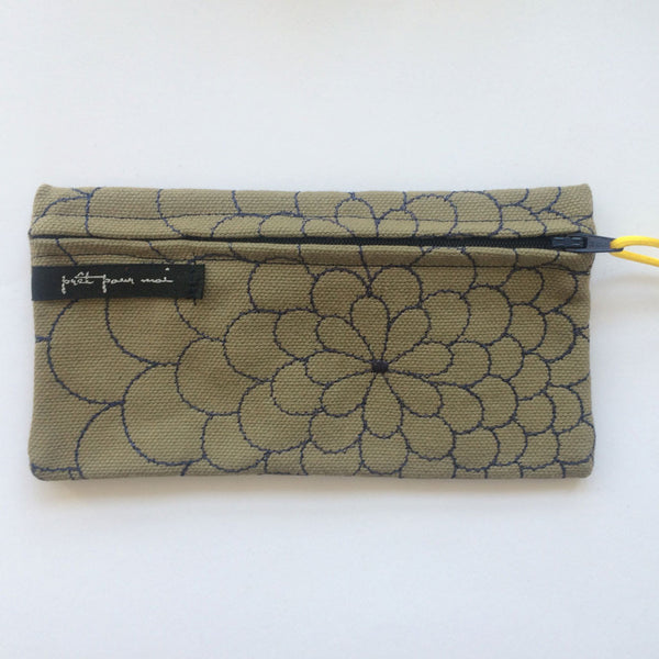 Simple Purse Mila light sage/denim