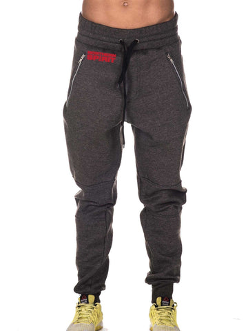 Grey Pants Small Red NS
