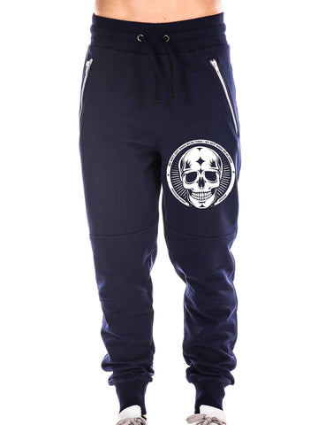 Navy Blue Pants, Skull