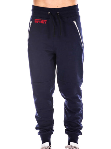 Navy Blue Pants Small Red NS
