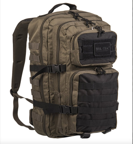 Ranger Green/Black Backpack Us Assault