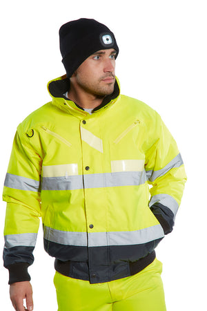 Portwest Glowtex 3 in1 Bomber Jacket G465