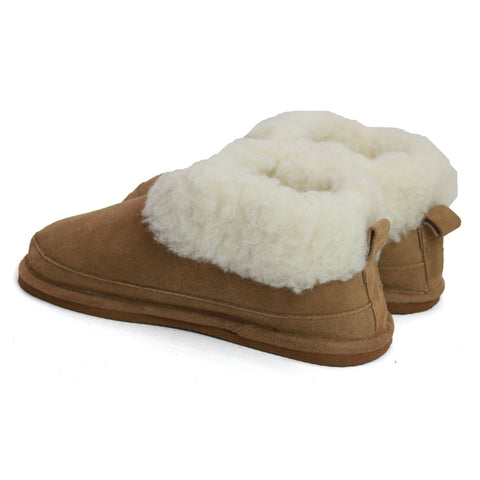 Ladies Wool Lined Slipper Boot