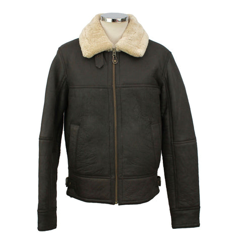 Men's Straight Zip Flying Jacket
