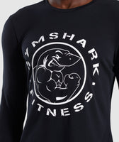 Gymshark Legacy Long Sleeve T-Shirt - Black 11