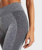 Gymshark Flex High Waisted Leggings - Grey/Pink 11