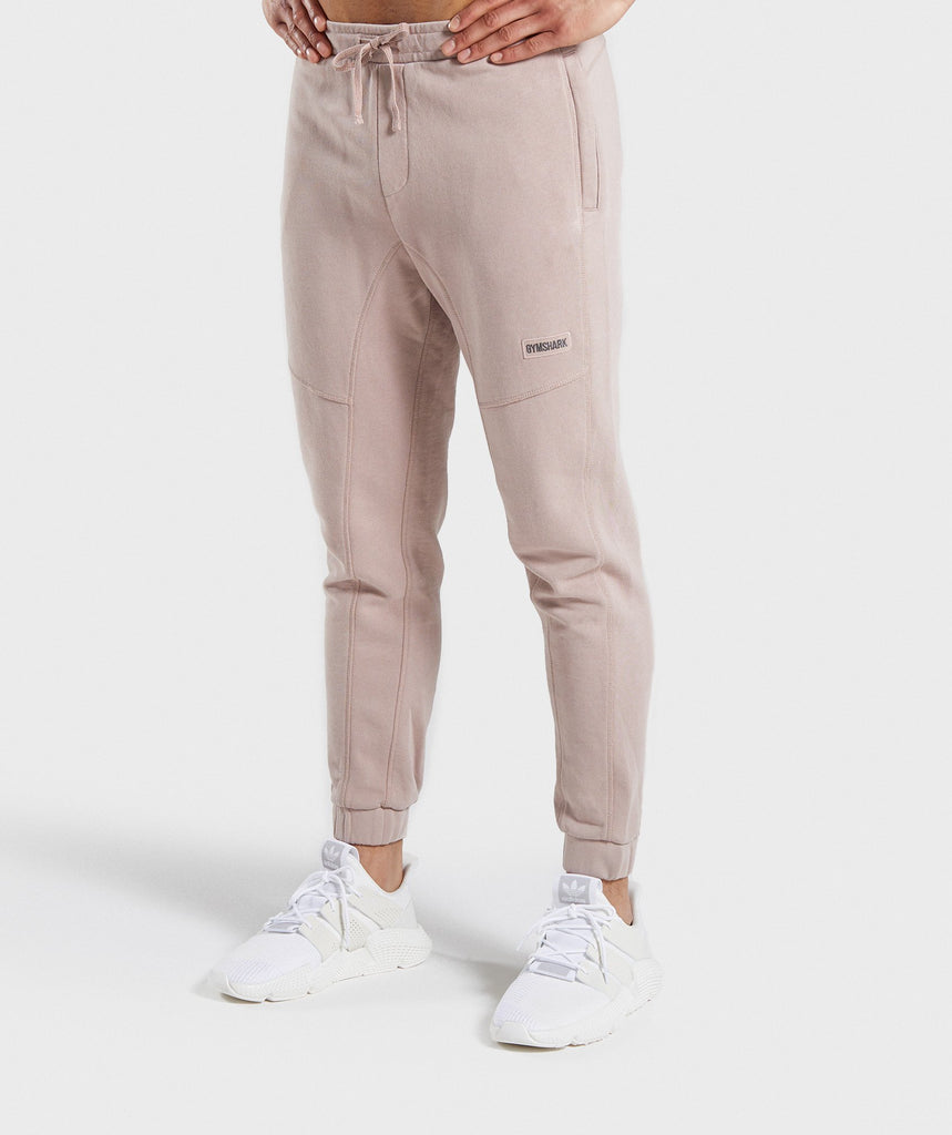 Gymshark Laundered Joggers - Nude 1