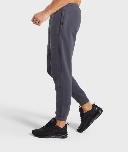 Gymshark Laundered Joggers - Charcoal 2