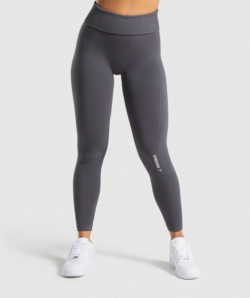 Gymshark Power Down Leggings - Charcoal 1